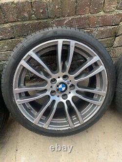 GENUINE BMW 3/4 SERIES 19 INCH STYLE 403M MSPORT ALLOY WHEELS Staggered 8j/8.5j