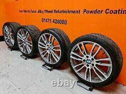 Genuine Bmw 3/4 Series 19 Inch Style 403m Msport Alloy Wheels F30/31/32/33/36