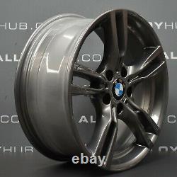 Genuine Bmw 3 4 Series F30 F31 F32 Style 400m Sport 18 Inch Alloy Wheels X4