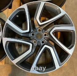 Genuine Set Of 4 Land Rover Discovery 5 22 Style 5025 Alloy Wheels