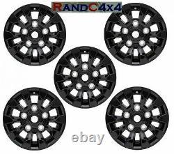 LR025862 Land Rover Defender SAWTOOTH Style Alloy Wheels Black 16X7 Set Of 5