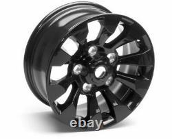 Land Rover Defender Black SAWTOOTH OEM STYLE Alloy Wheels 18x8 Set Of 5