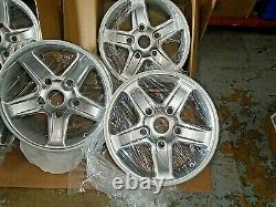 Land rover defender discovery 1 tdi set 18 inch boost alloy wheels x 5 oem style