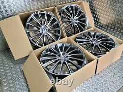 Mercedes AMG Turbine Style 20 Alloy Wheel W222 E S Class Staggered FREE FITTING