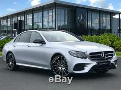 Mercedes AMG Turbine Style 20 Alloy Wheels Twist W222 W213 E S Class Staggered