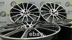 Mercedes C Class AMG 18 Inch Alloy Wheels & Tyres BRAND NEW Turbine Style X4