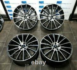 Mercedes C / E / Cla / Vito Class 19'' Inch Turbine Amg Style New Alloy Wheels