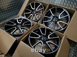 Mercedes C E Class C43 19 AMG Style Alloy Wheels W204 W205 W212 W213 Twist