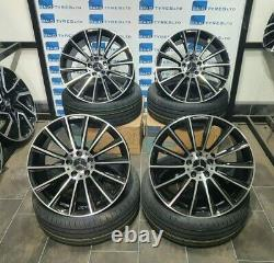 Mercedes E Class 19'' Inch Turbines Amg Style New Alloy Wheels & Tyres