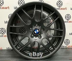 New 19 Bmw Csl Style Alloy Wheels 5 X 120 Matt Grey