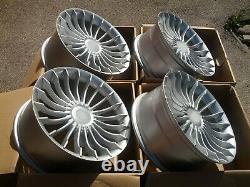 New 20 inch 5x120 ALPINA style SILVER Alloy wheels for BMW E60 E63 E39 Concave