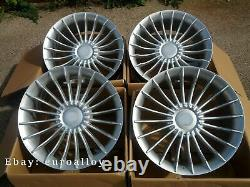New 4x 21 inch Haxer ALPINA style wheels for BMW 5 7 GT Silver Alloy Concave