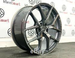 New Mercedes 20 Amg 507 Style Alloy Wheels 5 X 112 Grey/ Diamond Finish