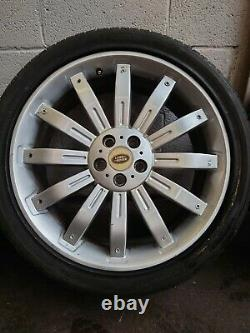 Range Rover L322 Overfinch Tiger Style 22 Inch Alloy Wheels With Tyres