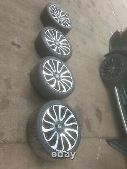 Range Rover Sport / Vogue 22 Turbine Style Alloys Wheels With Tyres X4