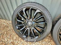 Range Rover Vogue L405 Turbine 22 Inch Style 7007 Alloy Wheels & Tyres