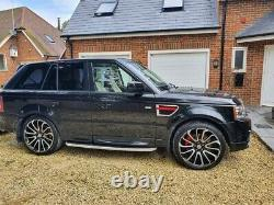 Range Rover sport Autobiography with professionally fitted Overfinch Styling kit
