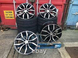 Santiago STYLE GTI Gtd 19 Inch Alloy Wheels SET OF 4 BRAND NEW TYRES 19