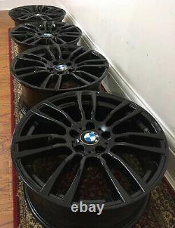 Swap Same Day, Bmw 3 4 Series X4 19 Genuine Style 403m Gloss Black Alloy Wheels