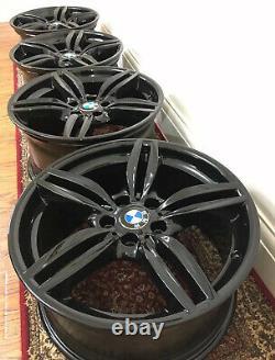 Swap Same Day, Bmw 5 6 Series X4 19 Genuine Style 351m Gloss Black Alloy Wheels