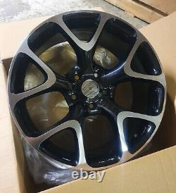 Vauxhall Ampera Astra Cascada x4 18 VXR 5X115 Style Alloy Wheels Black Polished