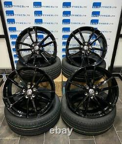 Vw Golf R / Gti / Caddy 19'' Inch Pretoria Style Alloy Wheels With New Tyres