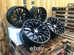 X4 18 Inch RS8 2020 Style Alloy Wheels 8J Et42 5x112 Audi TT A3 A4 Vw Golf Caddy
