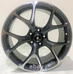 X4 19 Isnignia Vxr Style Alloy Wheels 8.5j 5x120 Fits Vauxhall Insignia Grey