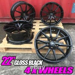 X4 22 Inch SVR Style Alloy Wheels Fits Range Rover Vogue Sport Disco Black SVR