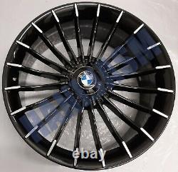 X4 New Alloy Wheels 20 Alloys Bmw 7 6 5 Series Z4 X3 Gt 5gt Alpina Style Black