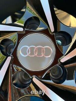 17 Nouvelles Roues En Alliage De Style Gti Uniquement Noir/diamant Couper Pour S'adapter À Audi A1 Tous Les Modèles