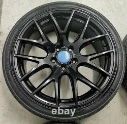 18 3sdm 0.01 Style Alloy Wheels 5x112 Vw Caddy Golf Mk5 6 7 Seat Leon Audi A3 R