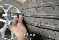 18 5x108 Ford Focus Alliage De Titane Alliages De Roues Avec Pneus Zetec St Style