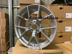 18 763m M4 Cs Style Alliage Roues Quartz Argent Bmw F20 F21 F22 F23 1 2 Série