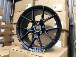 18 763m M4 Cs Style Alloy Wheels Satin Noir Bmw F30 F32 F20 F22 1 2 Série 3