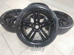 18 Audi Rs6 Style Alloy Wheels 5x112 Vw Golf Mk5 6 7 Caddy R32 Seat Leon A3 Bbs