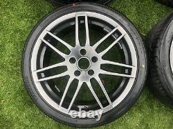 18 Audi Tt A4 A3 Le Mans Style Roues Et Pneus En Alliage Fit Vw Golf Passat 5x112