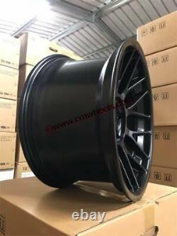 18 Bbs En Alliage De Style Rc Roues Massive Concave Satin Noir Bmw Série 5 E60 E61
