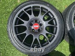 18 Bbs Motorsport Ch Style Alliage Roues Et Pneumatiques Audi Tt A4 A6 Vw Golf 5x112 %