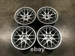 18 Bbs Rc Style Alliage Roues Deep Concave Quartz Argent Bmw E90 E92 E93 M3