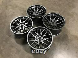 18 Bbs Rc Style Alloy Wheels Massive Concave Gun Metal Bmw E90 E92 E93 M3