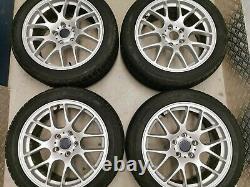 18 Bmw M3 Roues D'alliage De Style Csl Silver 359m 1 3 4 5 Série M5 Mv3 313 Msport