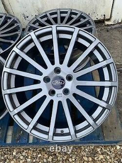 18 Ford Rs Style Alloy Wheels Only Gunmetal Grey Pour S'adapter À Ford Focus 2004-présent