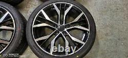 18 Golf Santiago Style Alliage Roues+tyres Vw Golf Mk5 Mk6 Mk7 (x4)
