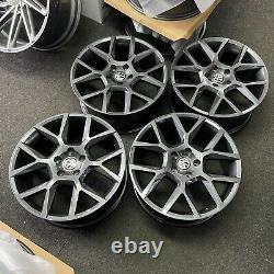 18 Gris Brillant Vw Golf Edition35 Style Alliage Roues Golf Caddy Tiguan + Plus