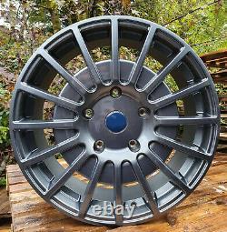 18' M Sport Style Alloy Wheels Gunmetal Fits Ford Transit Douanier (x4)