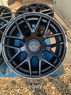 18 Mercedes E63 Amg Style Alliage Roues Seulement Noir/pol Mercedes Classe E W212