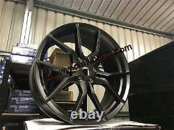 18 Nouvelle Ford Focus Rs Mk3 Style Alloy Wheels Gun Metal Focus St Rs 5x108 63.4