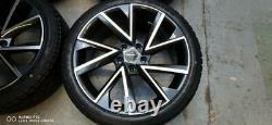 18 Octavia Vrs Style Alloy Wheels+tyres Fits Skoda Octavia 2 3 (x4)