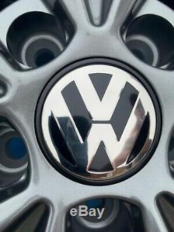 18 Pretoria Golf R Style Jantes En Alliage Seulement Gris Pour Gunmetal Volkswagen Caddy